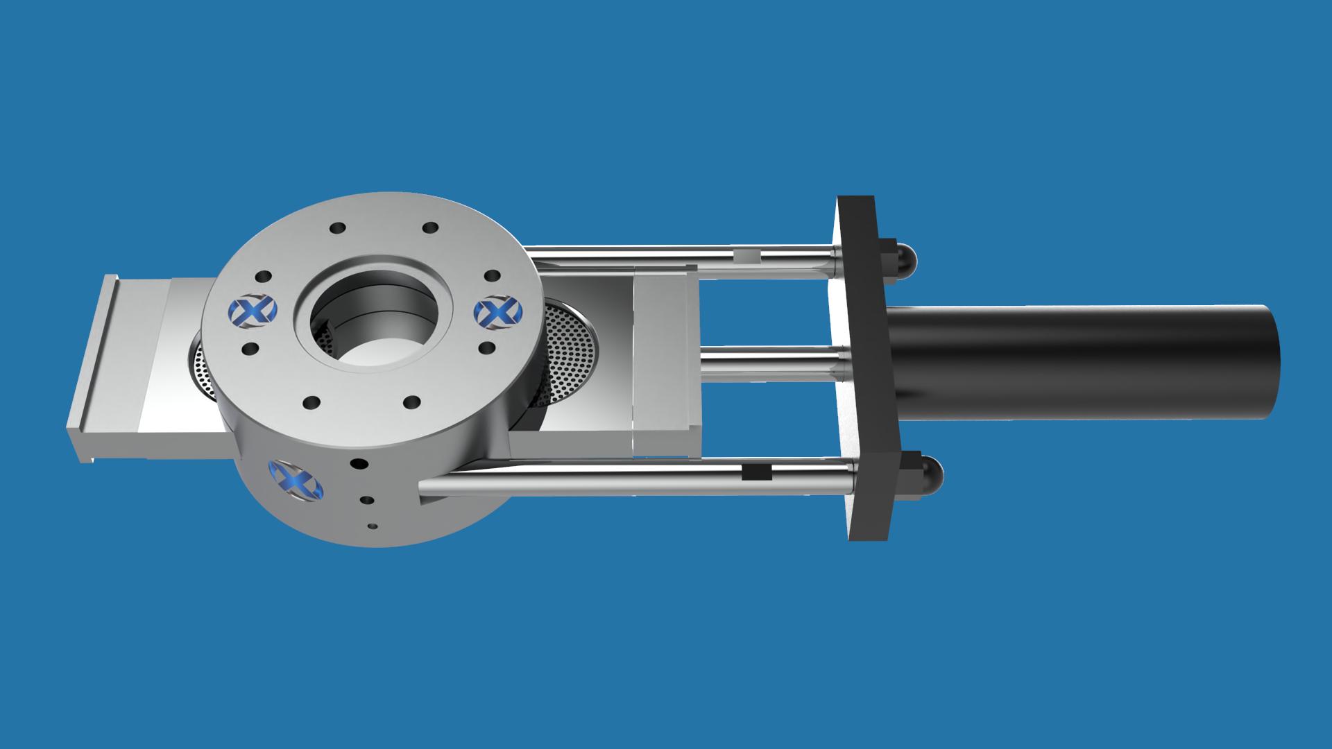 单柱双工位液压换网器有哪些优势?